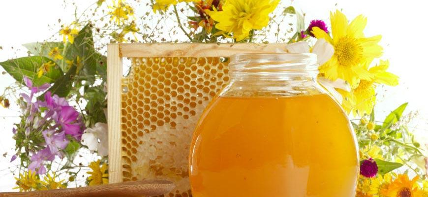 мёд и цветы