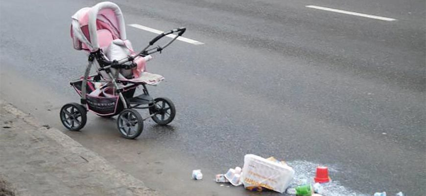 Авария с коляской