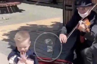 Малыш и скрипач