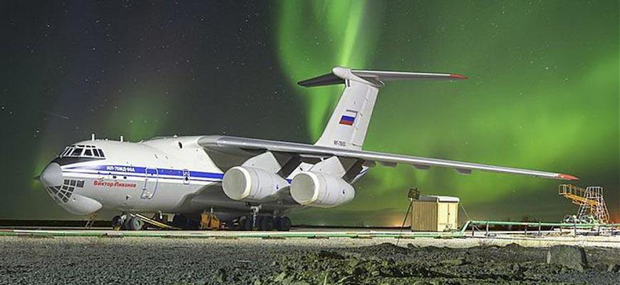 Самолёт в Арктике