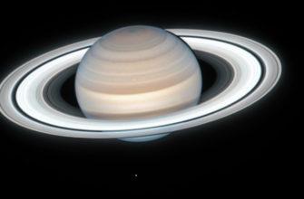 Сатурн меняет цвет