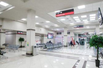 Зал ожидания красноярского вокзала