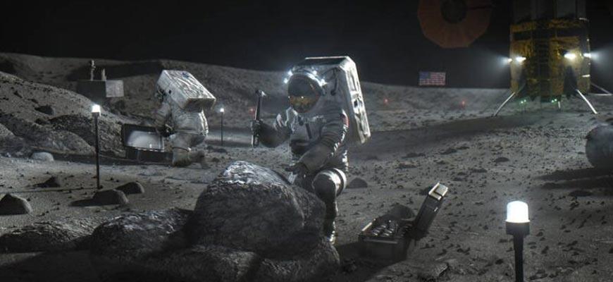 Астронавты-колонизируют-Лун