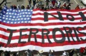 Флаг США террорист номер 1