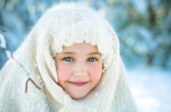 Девочка-в-шали-на-морозе