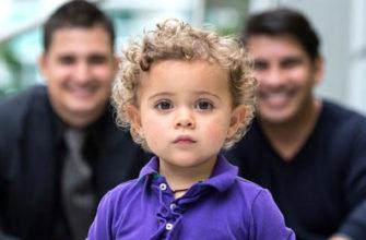 ребёнок в семье геев