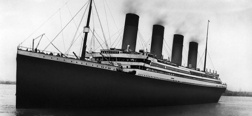 Титаник фото