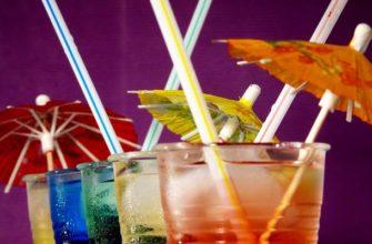 Соломинки для коктелей