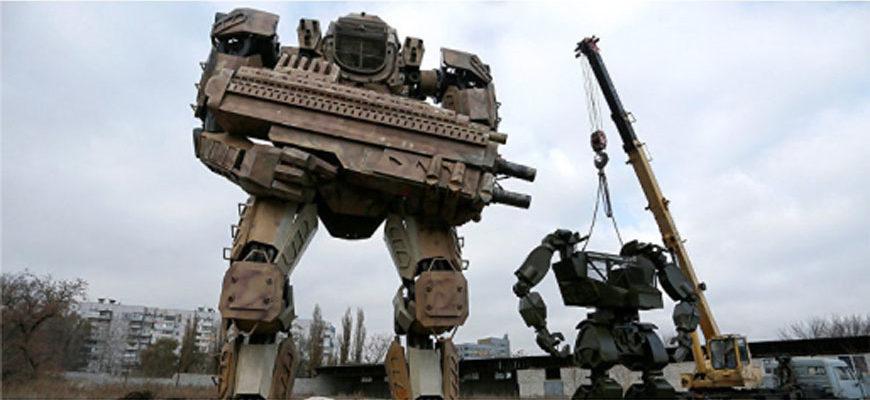 гигантские роботы трансформеры