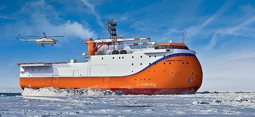 Российская ледостойкая платформа