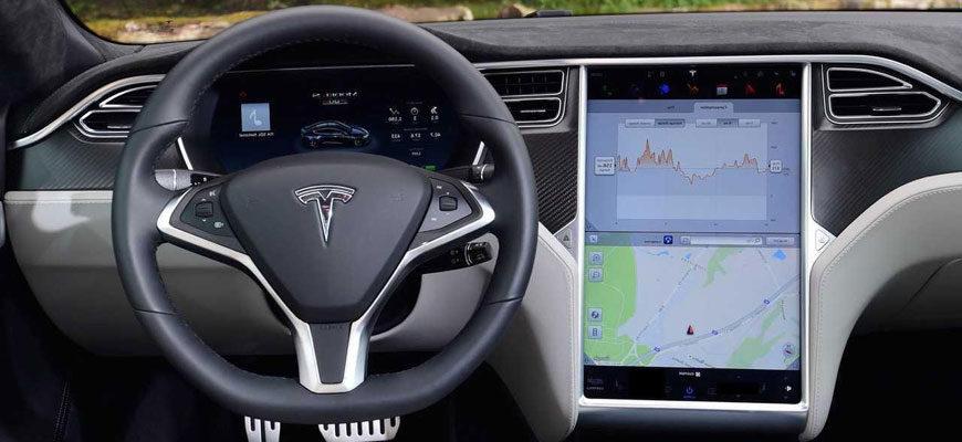 Тесла-рулевая-панел