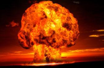 Ядерный взрыв ночь