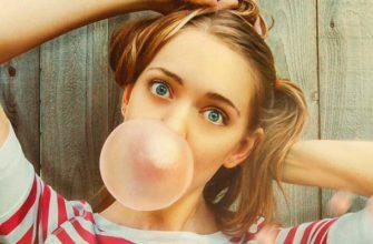 Жевательная резинка пузырь