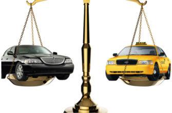 такси и авто на весах