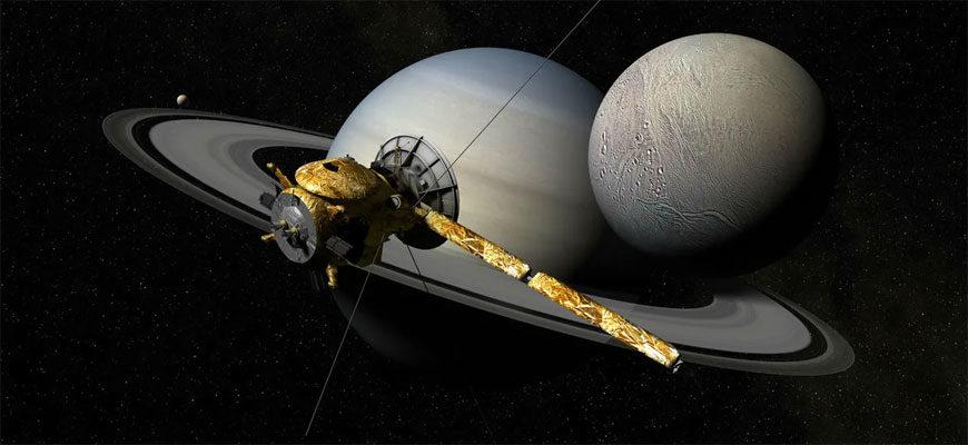 Cassini и Сатурн