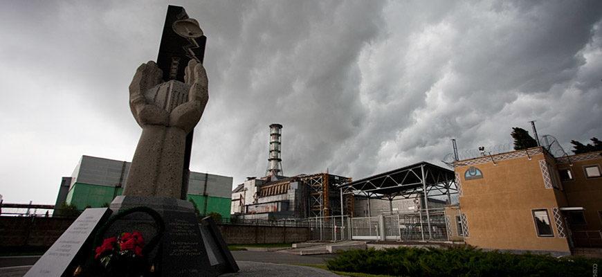 Чернобыль памятник