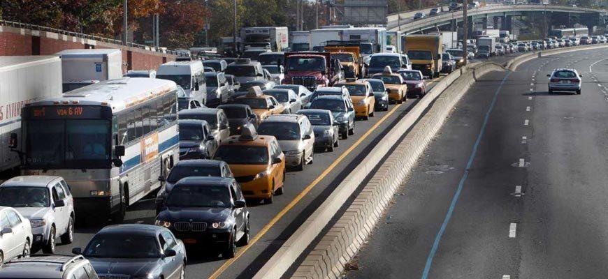 Пробка на шоссе