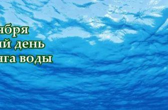 Всемирный день мониторинга воды