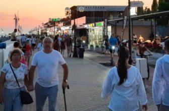 Без туристов Сочи не прожить