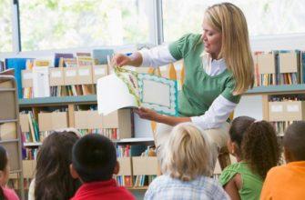 Воспитатель рассказывает детям